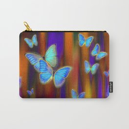 Silken Wings, Rainbow. Carry-All Pouch