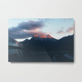 sunsets in paradise Metal Print