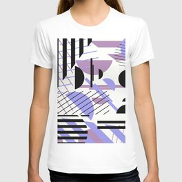 Shape Central - Geometric Abstract Pattern T-shirt