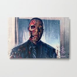 Face-Off (breaking bad) Metal Print