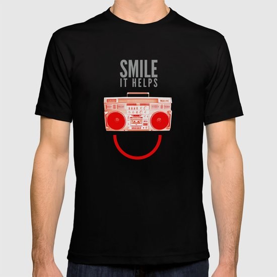 Smile. It Helps. T-shirt