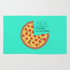 Pizza Pie Chart Rug