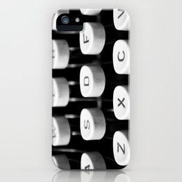 Vintage typewriter 3 iPhone Case