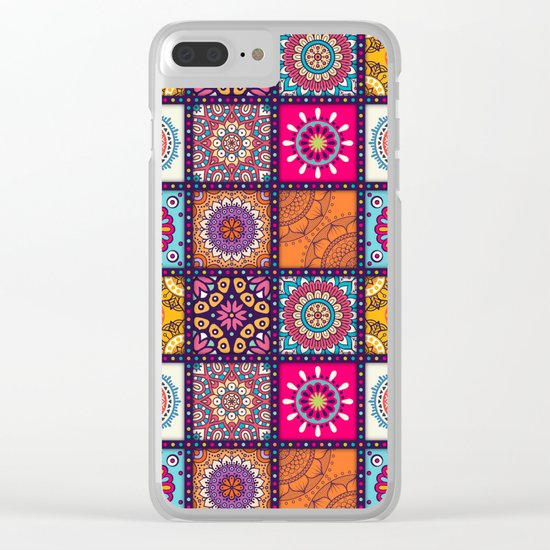 Pattern form Mandala Clear iPhone Case