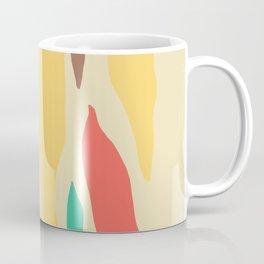 Abstract Mid-Century Modern Stalactites and Stalagmites Coffee Mug