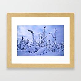 The winter wonderland II Framed Art Print