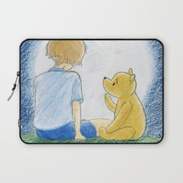 How old shall I be then? Laptop Sleeve