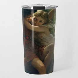 Springtime by Pierre-Auguste Cot 1873, French Travel Mug