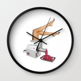 Grinder Wall Clock