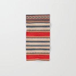 Bohemian Traditional Moroccan Style Artwork Hand & Bath Towel