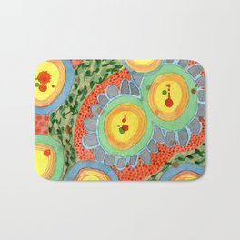 Splashes In Bubbles Bath Mat