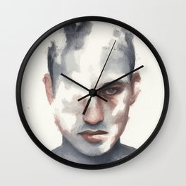 Small watercolor 12 Wall Clock