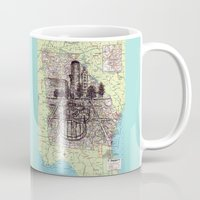 georgia Mugs featuring Georgia by Ursula Rodgers