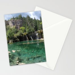 A Beautiful Day at Hanging Lake Stationery Cards