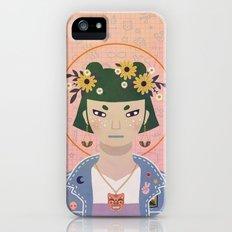 Doodles Portrait Slim Case iPhone (5, 5s)