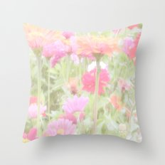 Prettiest Pink  Throw Pillow