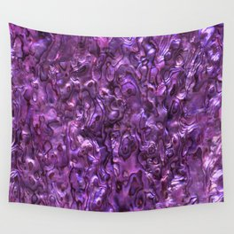 Abalone Shell | Paua Shell | Magenta Tint Wall Tapestry