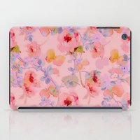 girly iPad Cases featuring girly floral by clemm