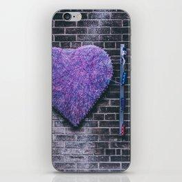 Woven Heart iPhone Skin