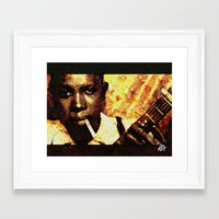 robert farkas Framed Art Prints featuring Robert by Darla Designs