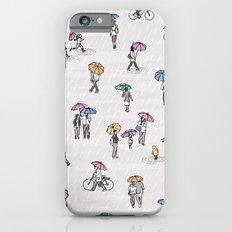 Tiny People in Autumn Slim Case iPhone 6s