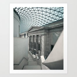 Inside the British Museum Art Print