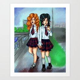 t.A.T.u. Art Print