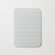 Icosahedron Soft Grey Bath Mat
