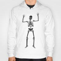 skeleton Hoodies featuring Skeleton  by YUNG-GOD