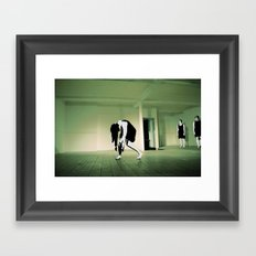 The Death Stare Framed Art Print