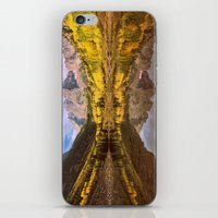 mountains iPhone & iPod Skins featuring mountains. Mirror Lake by 2sweet4words Designs