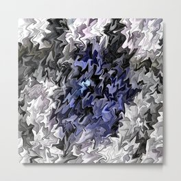 Shades of Blue in to the Light.... Metal Print
