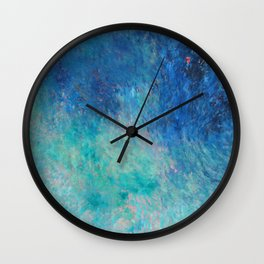 Water II Wall Clock