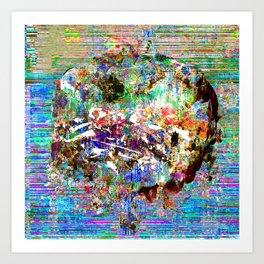 Unearth Art Print