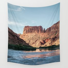 Cathedral Rocks on the River Wall Tapestry