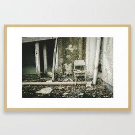 The Glassmaker's Chair Framed Art Print