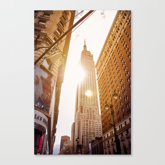 Empire forever Canvas Print