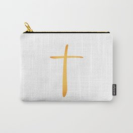 Latin Christian Cross Carry-All Pouch