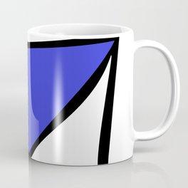 Blue Black X Coffee Mug