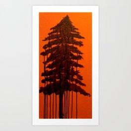 Retinal Burn #1  Art Print