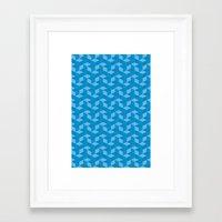 escher Framed Art Prints featuring Escher #006 by rob art | simple