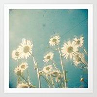 forever young Art Prints featuring Forever Young by Cassia Beck