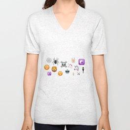 New Emojis Unisex V-Neck
