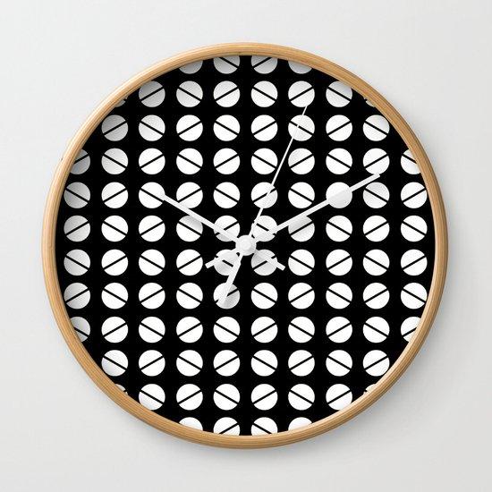 Fortuyn Pattern Wall Clock