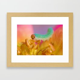 A word Framed Art Print