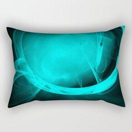 Through the glowing glass portal Rectangular Pillow