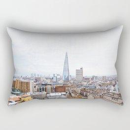 City Skyline View of the Shard, London Rectangular Pillow