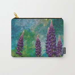 For The Love Of Lupines by annmariescreations Carry-All Pouch