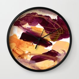 abstract painting XI Wall Clock