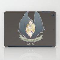 destiel iPad Cases featuring [ Supernatural ] Destiel Castiel Dean Winchester by Vyles
